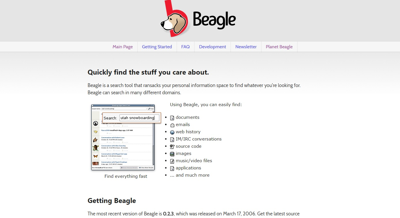 Beagle (Software)